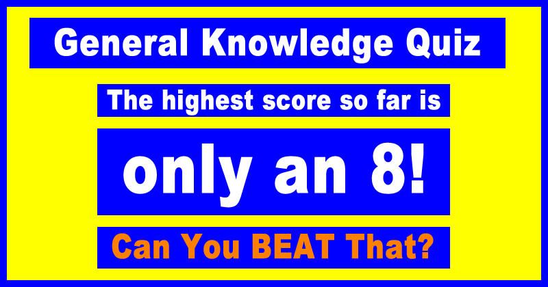 Fun General Knowledge Trivia Quiz